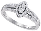 0.20CTW DIAMOND MICRO-PAVE RING