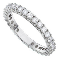 0.50CTW DIAMOND ETERNITY BAND