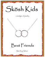 Skosh Children's Best Friends Circles Necklace