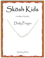 Skosh Children's 7 Pearl Daily Prayer Necklace