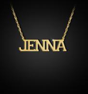 Varsity Name Necklace