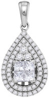 1.07CTW DIAMOND FASHION PENDANT