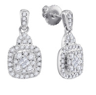 0.47CTW DIAMOND FASHION EARRINGS