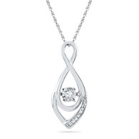 0.04CTW DIAMOND FASHION PENDANT