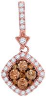 0.50 CTW DIAMOND FASHION PENDANT