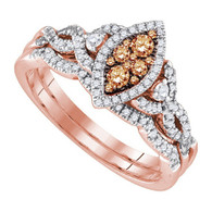 0.51CTW DIAMOND FASHION RING
