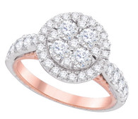 2.00 CTW DIAMOND FASHION BRIDAL RING