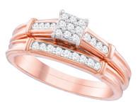 0.22CTW DIAMOND FASHION BRIDAL SET
