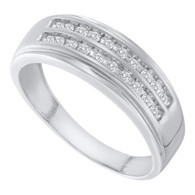 0.25CTW DIAMOND FASHION MENS BAND