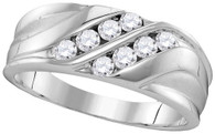 0.50  CTW DIAMOND MENS FASHION BAND