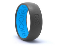GROOVE ORIGINAL SILICONE RING | DEEP STONE GREY