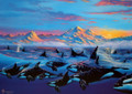 Arctic Morning Limited Edition Lithograph
