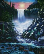 "Tumalo Falls Fine Art Print 8"" x 10"""
