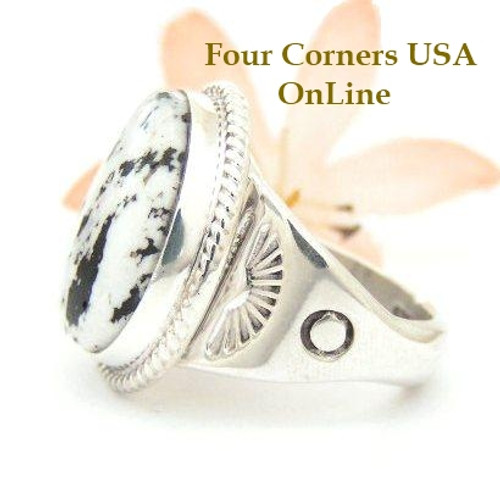 Men S Rings White Turquoise Rings Four Corners Usa Online