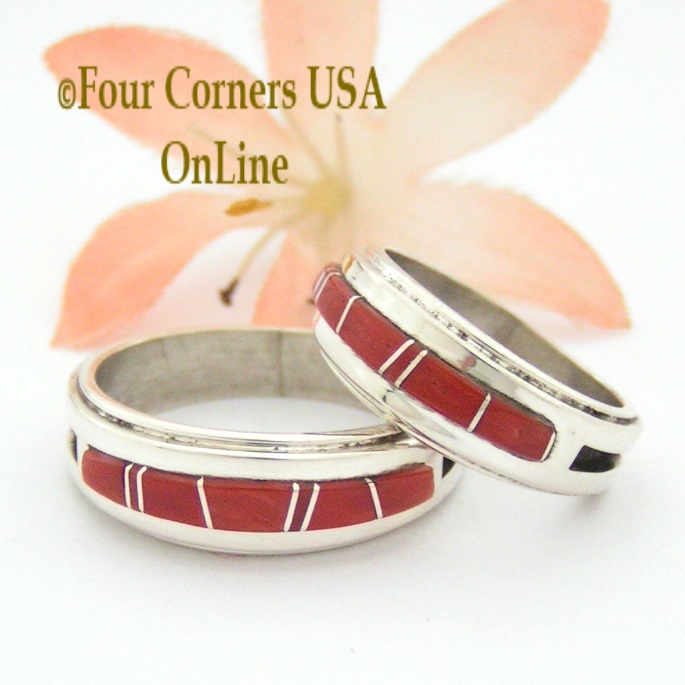 Native American Engagement Wedding Ring Sets