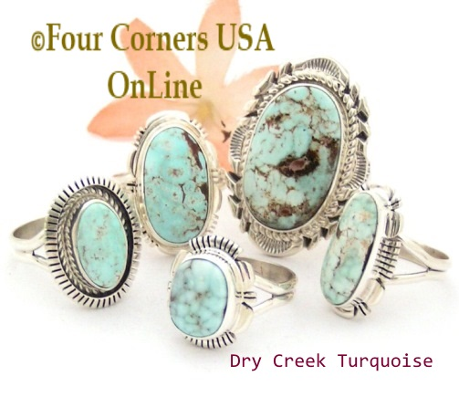 Turquoise Jewelry Womens Turquoise Rings Four Corners