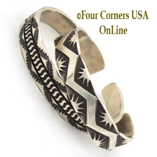Silver Bracelets Navajo Emerson Bill Four Corners Usa Online