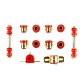 1955 1956 1957 Chevrolet Full Size Red Polyurethane New Front End Suspension Bushing Set