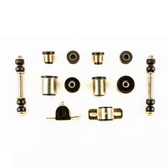 1964 1965 Buick Skylark Special Black Polyurethane New Front End Suspension Bushing Set