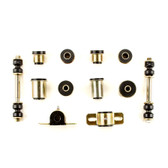 1966-1970 Buick Special Skylark Black Polyurethane New Front End Suspension Bushing Set