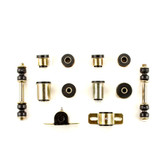 1967 1968 1969 Chevrolet Camaro Black Polyurethane New Front End Suspension Bushing Set