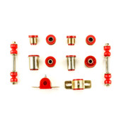 1967 1968 1969 Chevrolet Camaro Red Polyurethane New Front End Suspension Bushing Set