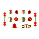 1970 Chevrolet Camaro Red Polyurethane New Front End Suspension Bushing Set