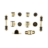 1970 Chevrolet Camaro Black Polyurethane New Front End Suspension Bushing Set