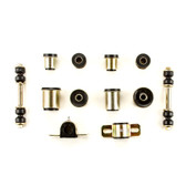 1973 Chevrolet Camaro Black Polyurethane New Front End Suspension Bushing Set