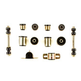 1964 1965 Chevrolet Chevelle El Camino Black Polyurethane New Front End Suspension Bushing Set