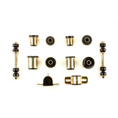1975-1979 Chevrolet Chevy II Nova Black Polyurethane New Front End Suspension Bushing Set