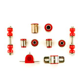 1970-1974 Dodge Challenger Red Polyurethane New Front End Suspension Bushing Set