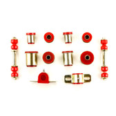 1973 Pontiac GTO LeMans Grand Am Red Polyurethane New Front End Suspension Bushing Set