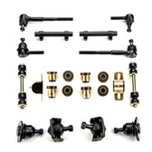 1955-1957 Chevrolet (Full Size) Black Polyurethane New Front End Suspension Rebuild Kit
