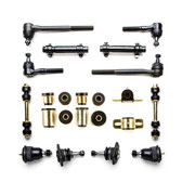1967 Chevrolet Camaro Black Polyurethane New Front End Suspension Rebuild Kit