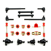 1958 1959 1960 1961 1962 Chevrolet Full Size Red Polyurethane New Front End Suspension Rebuild Kit