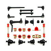 1963 1964 Chevrolet Full Size Red Polyurethane New Front End Suspension Master Rebuild Kit