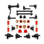 1968-1974 Chevrolet Corvette Red Polyurethane New Front End Suspension Master Rebuild Kit
