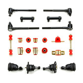 1970 Chevrolet Monte Carlo Red Polyurethane New Front End Suspension Rebuild Kit