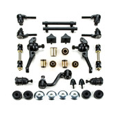 1967 Dodge Dart Black Polyurethane Front End Suspension Master Rebuild Kit - Disc Brake Vehicles