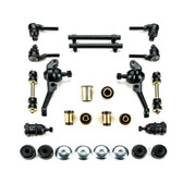 1964 1965 1966 1967 1968 1969 Plymouth Barracuda Black Polyurethane Front End Suspension Rebuild Kit with Disc Brakes