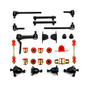 1961 1962 Chevrolet Full Size Red Polyurethane New Front End Suspension Master Rebuild Kit