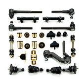 1970-1974 Chevrolet Chevy II Nova Black Polyurethane New Front End Suspension Master Rebuild Kit