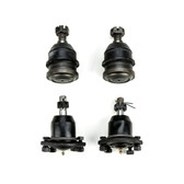 1971-1991 Chevrolet 2WD C20 3/4 Ton Pickup Suburban New Upper and Lower Ball Joint Set