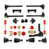 1965 Chevrolet Chevelle Red Polyurethane Front End Suspension Master Rebuild Kit