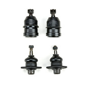 1985-1986 Cadillac Fleetwood Brougham RWD All Except Armored Body New Upper and Lower Ball Joint Set