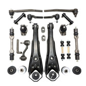 1967 Mercury Comet Front End Suspension Rebuild Kit Power Steering w/ Idler Arm