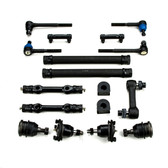 1971-1982 GMC 2WD C2500 3/4 Ton Pickup and Suburban New Front End Suspension Rebuild Kit with Idler Arm