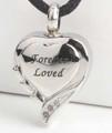 """Fancy """"Forever Loved"""" Heart"""