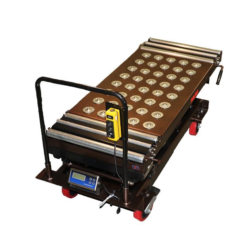 Crematory Battery Powered Scissor Lift HD